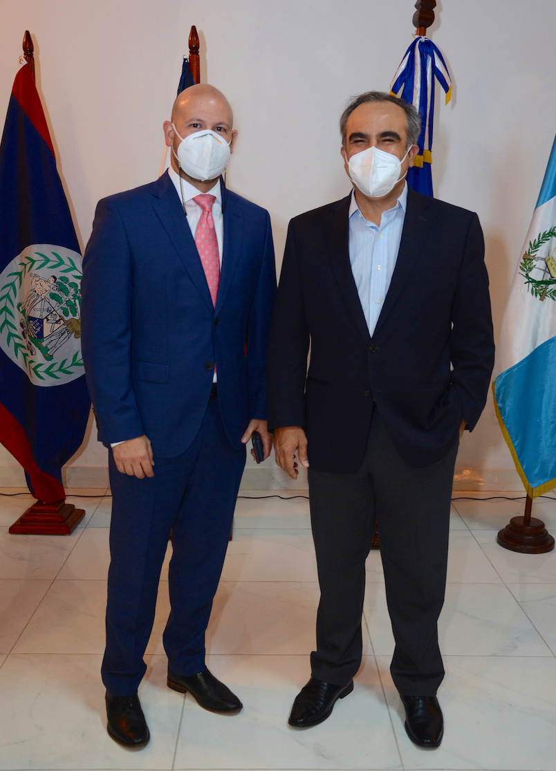 Jaime Licairac y Celso Marranzini