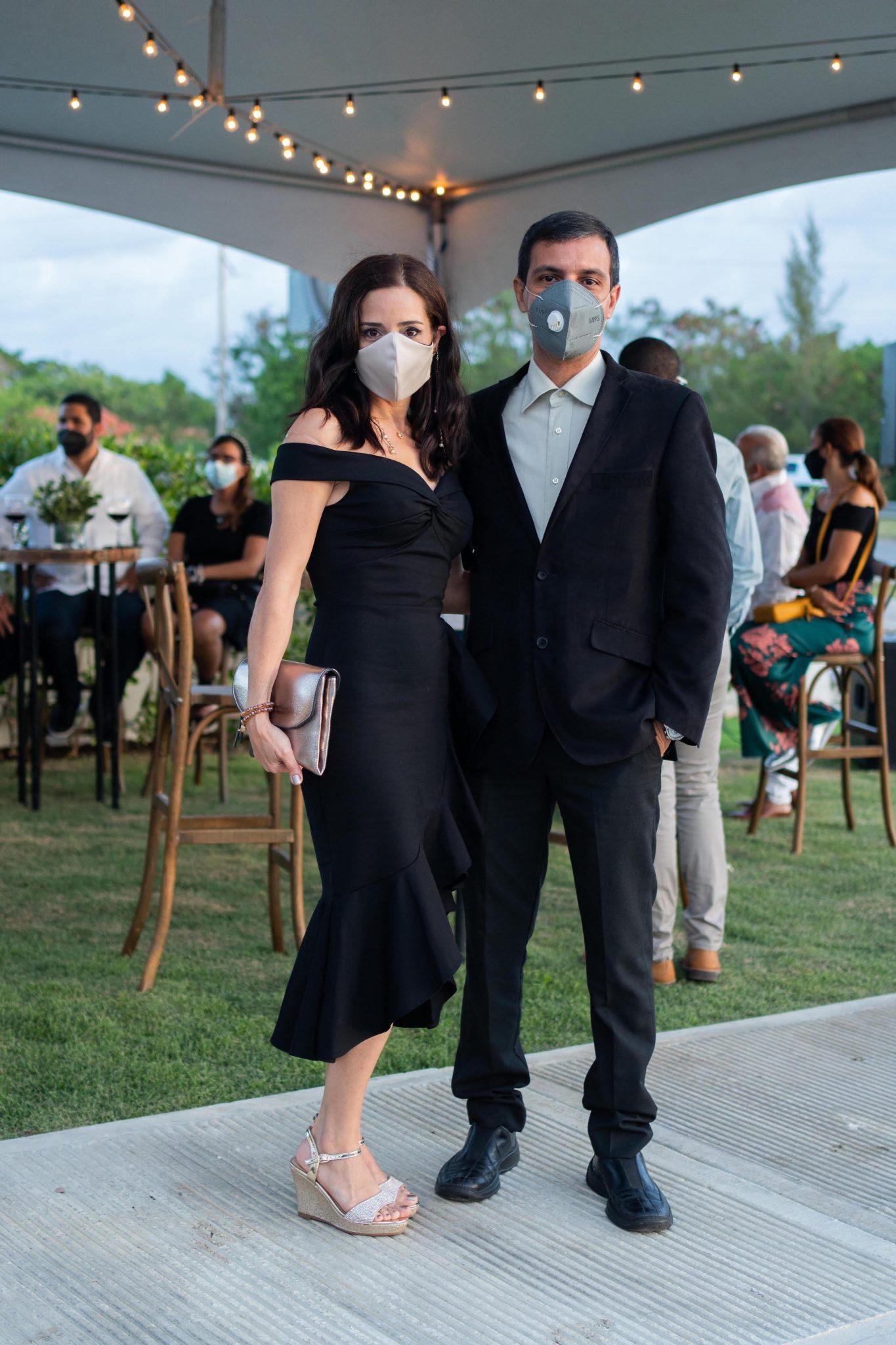 Luis Suarez y Patricia Franceschi