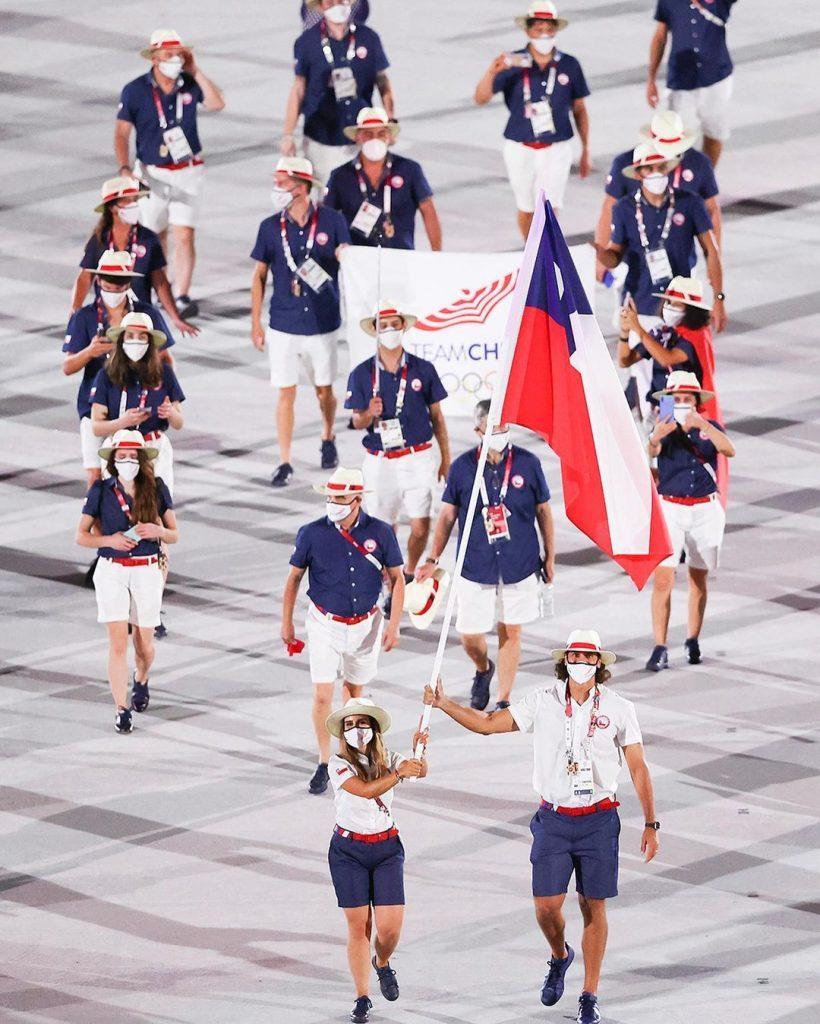 Delegación de Chile. Foto cortesía Juegos Olímpicos