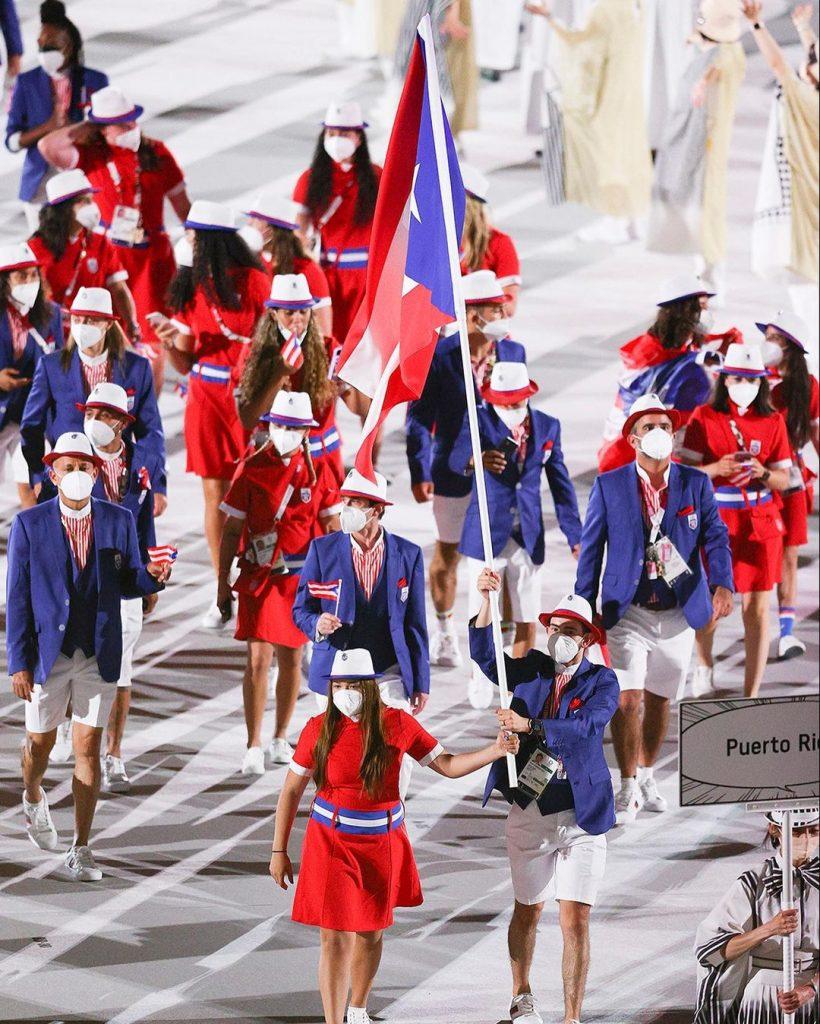 Delegación de Puerto Rico. Foto cortesía Juegos Olímpicos