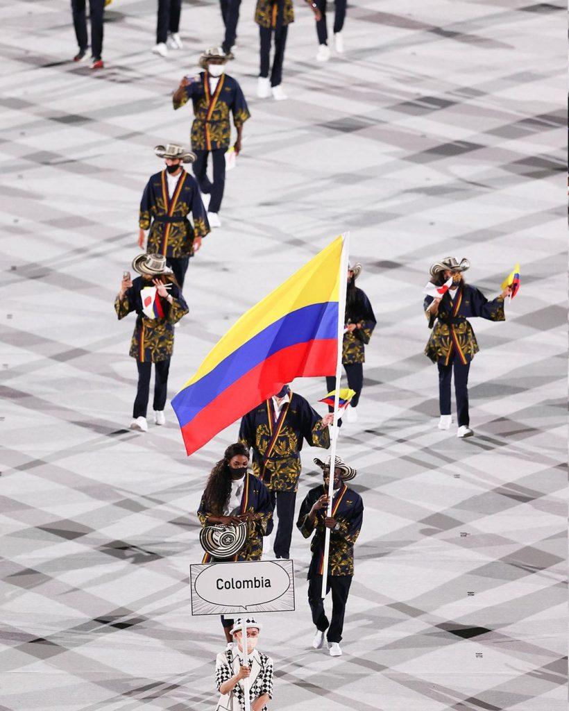 Delegación de Colombia. Foto cortesía Juegos Olímpicos