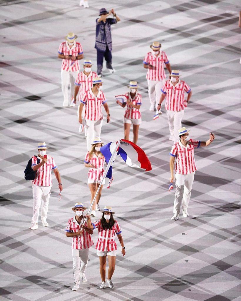 Delegación de Paraguay. Foto cortesía Juegos Olímpicos