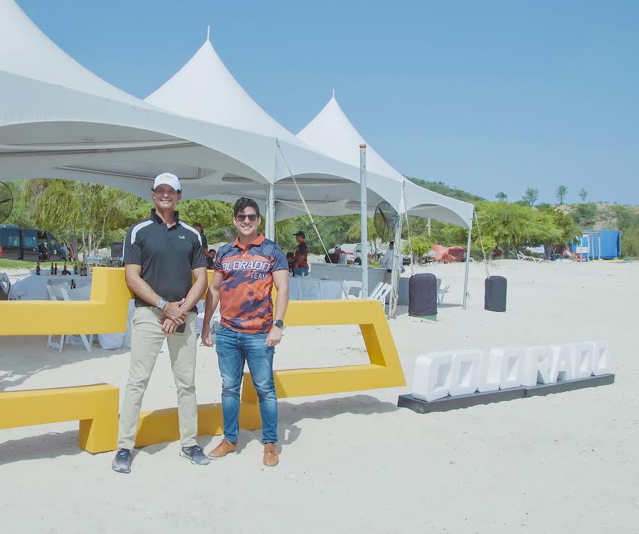 Francisco Lluberes y Alex Guerrero