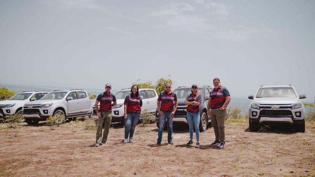 Ricardo Torres, Carmen Pichardo, Reyes Guzmán, Paola Soto y Harold Abbott.