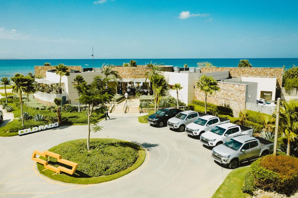 La nueva Chevrolet Colorado se impone en el complejo turístico Puntarena en Baní