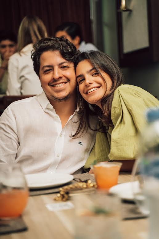 Andrés Pichardo y Andrea Montero