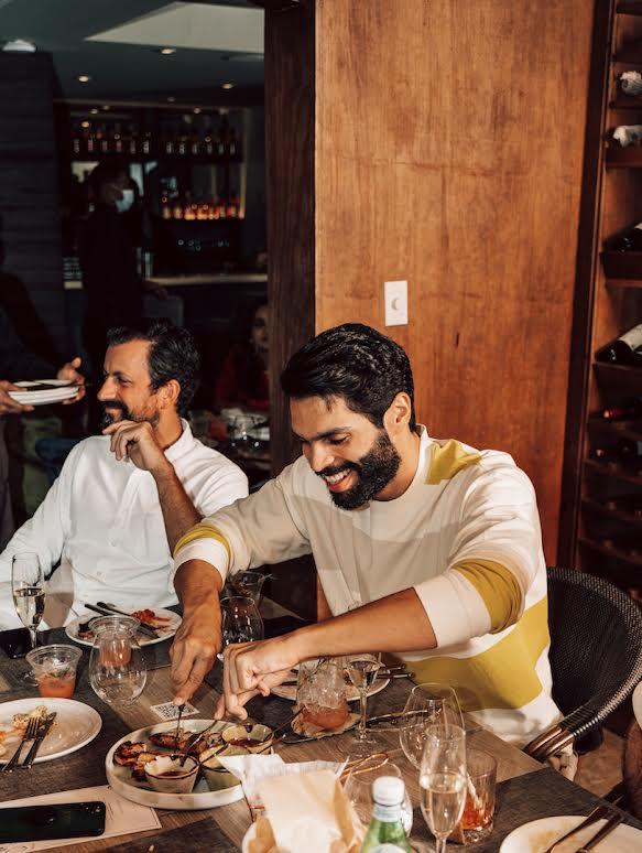 Andrés Aybar y Joaquín Sánchez