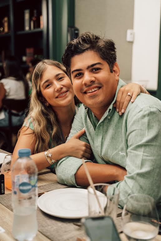 Juan Alberto Guerra y Angélica Casado