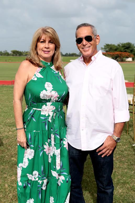 María Eugenia Báez y Mario Biaggi
