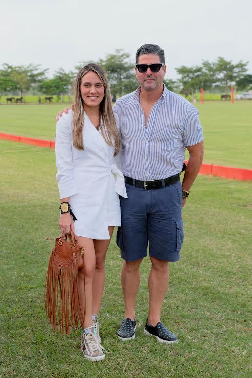 Anabelle Frías y Luis Arturo Carbuccia