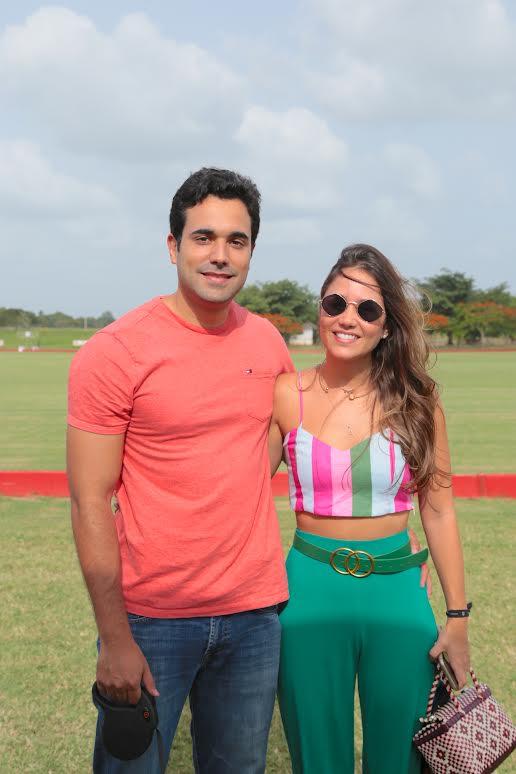 Adrián Rivera y Andrea Cabral