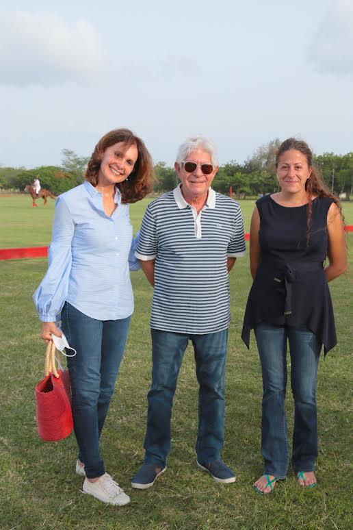 Olga Reyes de Ubeda, Rafael Ubeda Eddeh y Alba Rodríguez