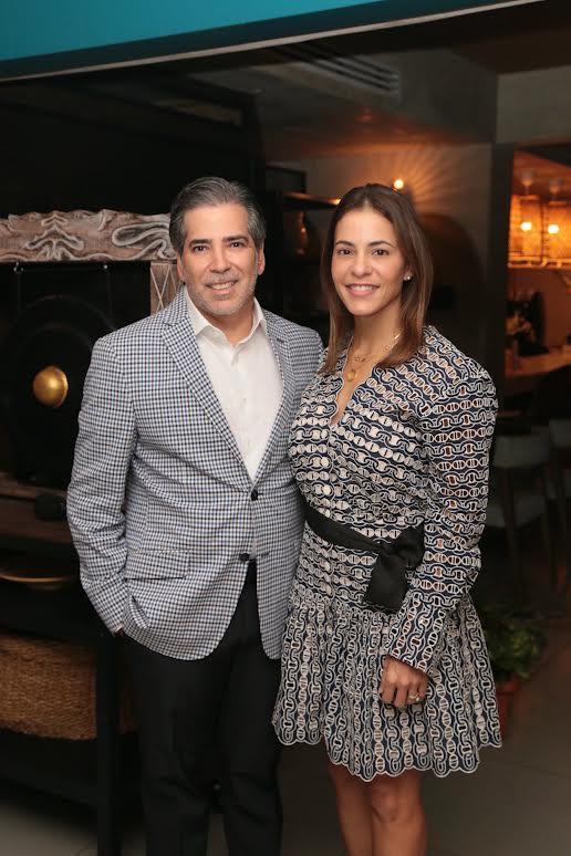 Ferdinando Lamarche y Mónika Guzmán