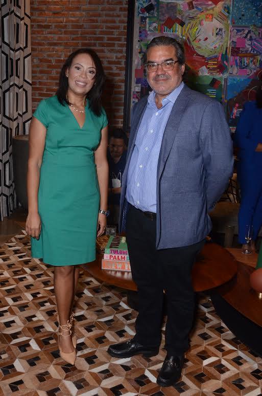 Clara Encarnación y José Abel González