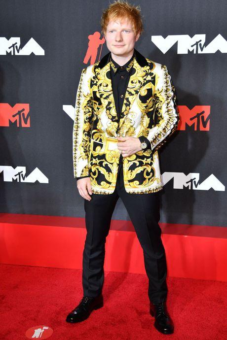 Ed Sheeran en Versace
