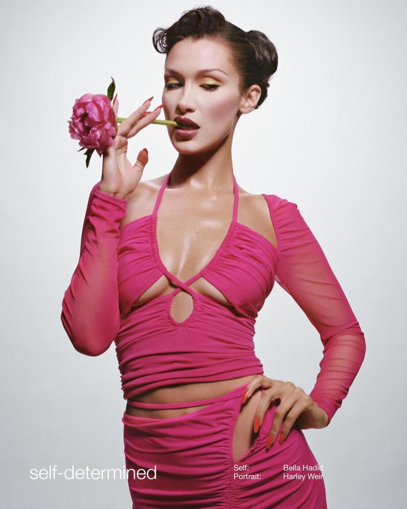 Bella-Hadid-Self-Portrait-Spring-2022-Campaign03