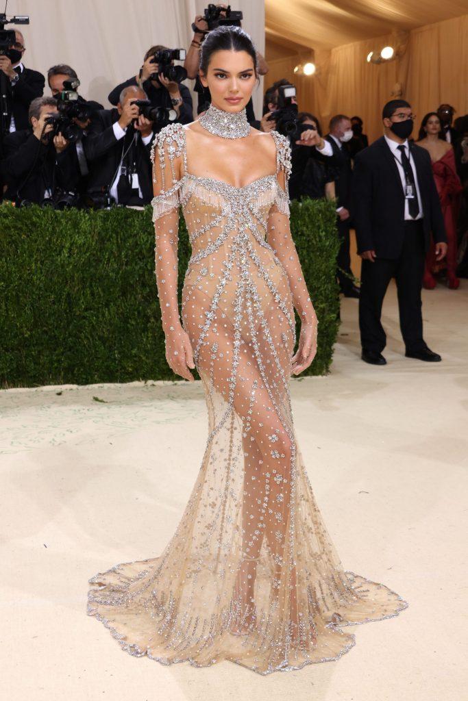 Kendall Jenner en Givenchy.