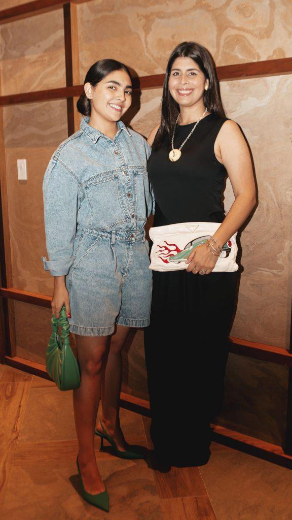 Nicole Betances y Giovanna Vásquez