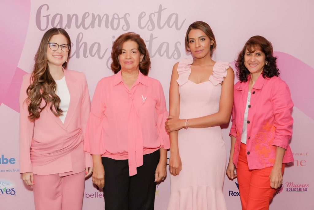 Iamdra Fermín, María del Pilar Canó, Mayi Aristy y Zamira de León