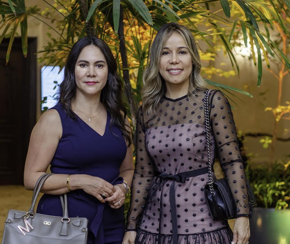 Mildred Pérez y Yudelka Rodríguez
