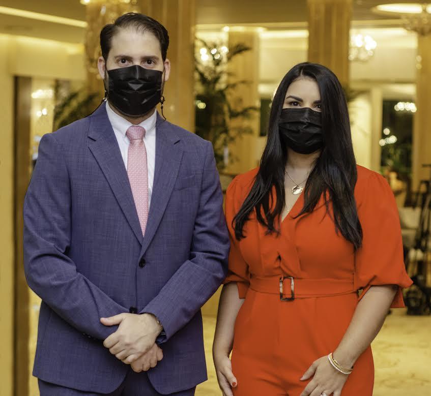 Osian Abreu y Karina Rodríguez