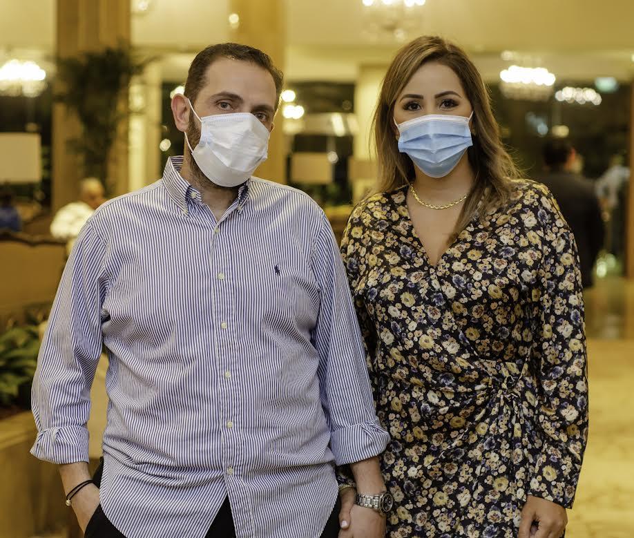Tony Khawan y Gabriela Ayala