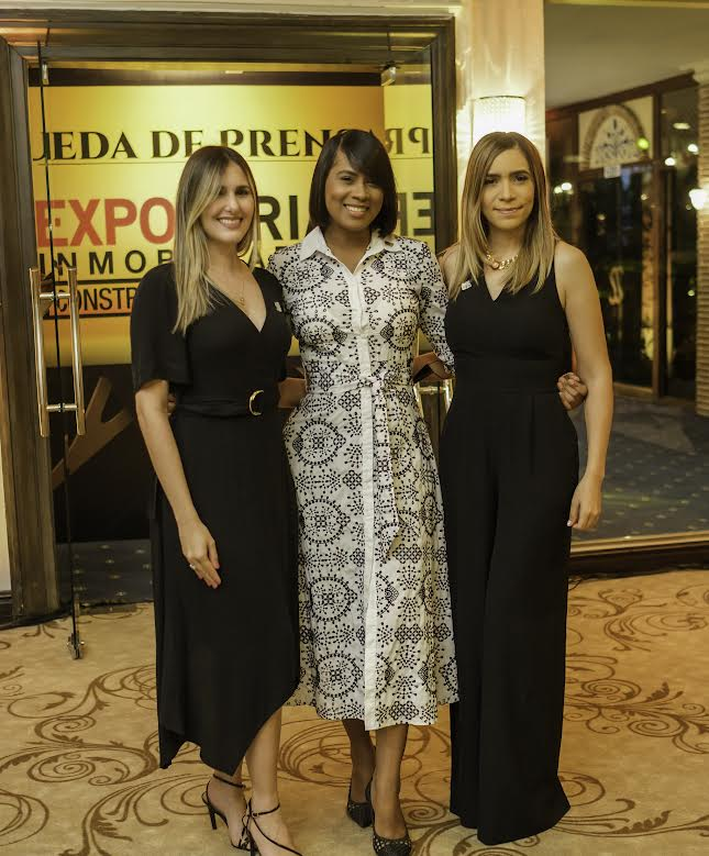 Griselle Ventura, Annerys Rozón y Nakauly Brito