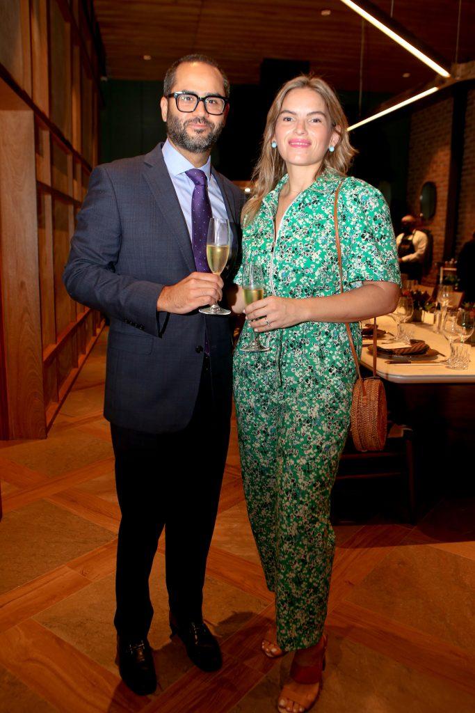 Michael Cruz y Karla Leschhörn