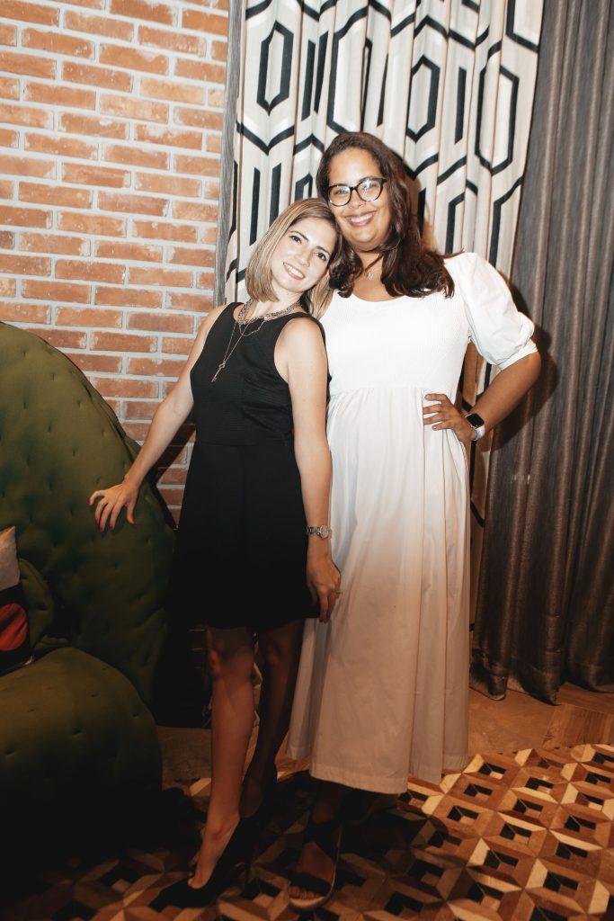 Nicole Rizik y Ambar Luna