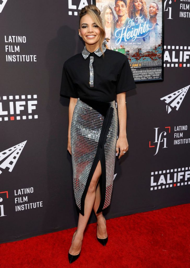 Leslie-Grace-Wore-David-Koma-For-The-In-The-Heights-Los-Angeles-Latino-International-Film-Festival-Screening-